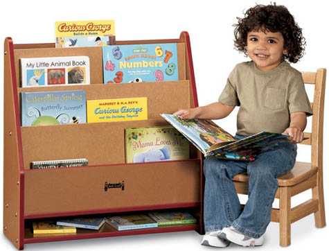 Pick A Book Stand Toddler Book Stand 100 Recycled Wood
