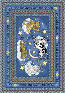 Hey Diddle Diddle 169 Nursery Rug