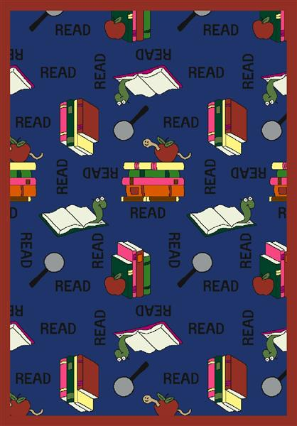Bookworm 169 Library Rug