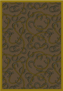 Rodeo 169 Western Theme Area Rug